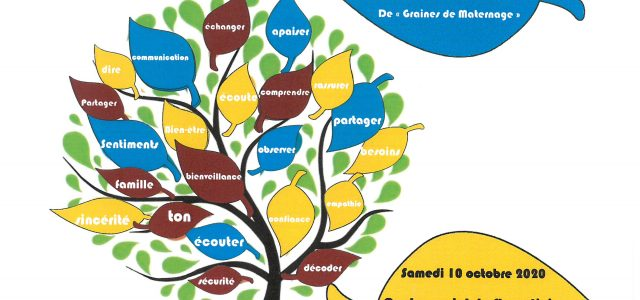 """Le Centre Social organise un Café-rencontre animé par Staphanie MARTIN de """"Graines de Maternage"""" sur la communication bienveillante Rendez-vous le samedi 10 octobre 2020 à 9h30 au Centre Social Infos […]"""