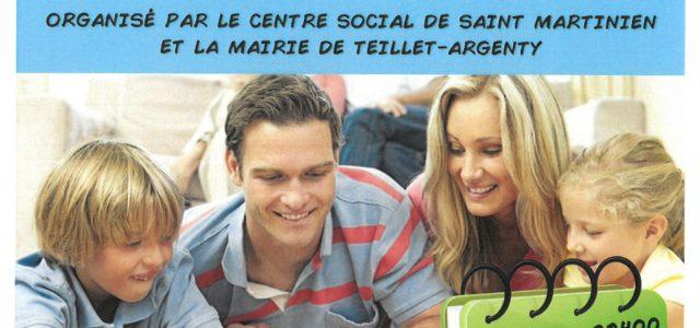 Le Centre Social de St Martinien et la Mairie de Teillet-Argenty vous propose une veillée-jeux Rendez-vous le vendredi 1er octobre à 19h00 à la Grange d'Argenty Animation gratuite et ouverte […]